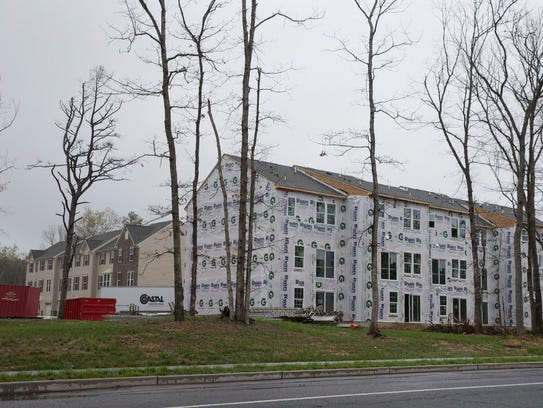 Partially built Riverwood Chase in the North Dover