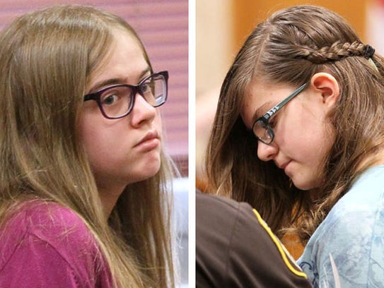 The cases against Morgan Geyser (left) and Anissa Weier,