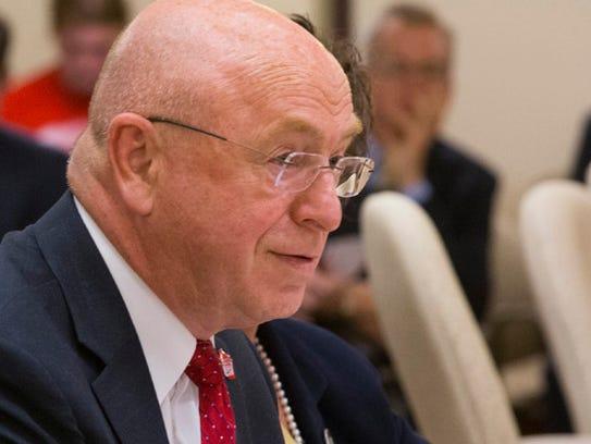 Ray Cross, president of the University of Wisconsin