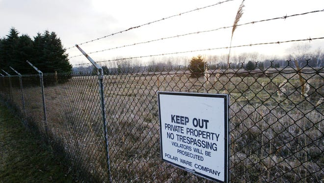 Approximately 40 acres of green space north of the former Polarware site has been gifted to the Sheboygan Area School District.