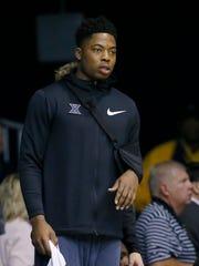 Injured Xavier Musketeers forward Tyrique Jones (0)