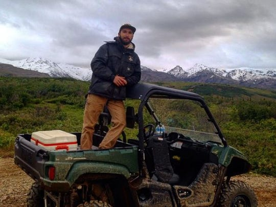 Mike Purdy pictured with an ATV. He worked as a tour guide at Denali ATV over the summers in Healy, Alaska. He died on April 26. His family granted permission to use the image.