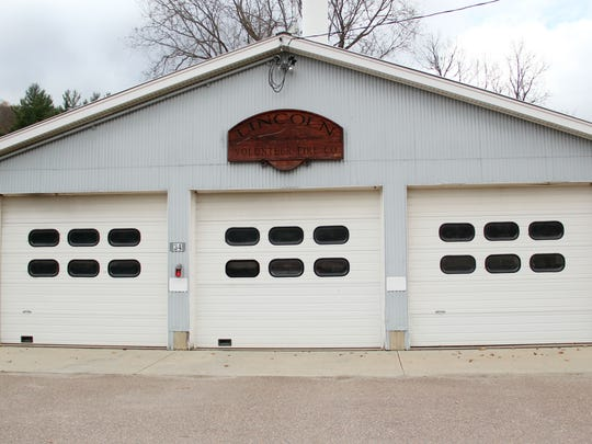 Lincoln Volunteer Fire Company's station in Lincoln on Sunday, October 25.