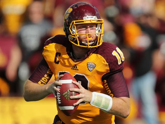 NCAA Football: UNLV at Central Michigan