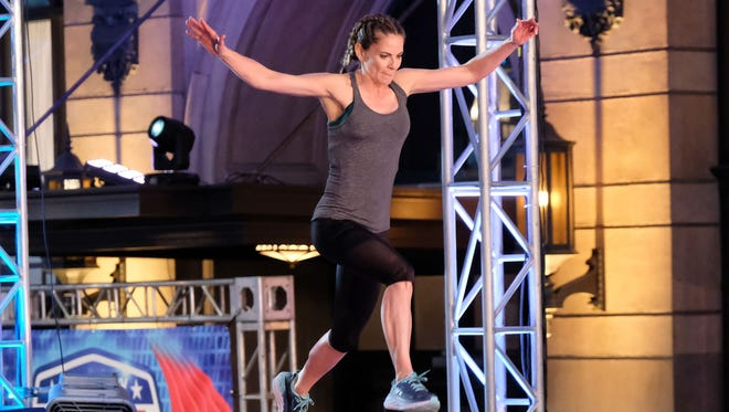 Natalie Morales on NBC's 'American Ninja Warrior.""