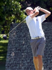 Gallatin 16-year-old Michael Barnard reached the semifinals of the Tennessean/Metro Parks Schooldays Golf Tournament with match-play wins over Bracton Womack and Matt Kirchenbauer on Wednesday.
