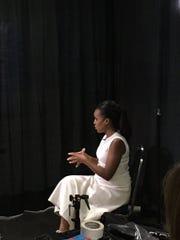 Actress Kerry Washington at a women's summit in Washington