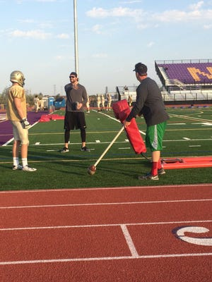 Notre Dame Prep could face the wrath of the AIA or open it up to the rest of the state to be in full football pads year-round after summer school course