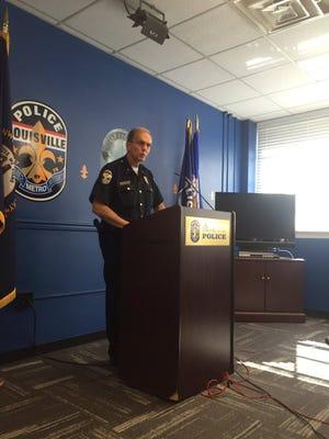 Police chief Steve Conrad