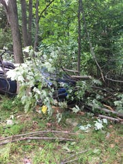 United Hook and Ladder extricated one person from a crash in Paradise Township on Aug. 12, 2016.