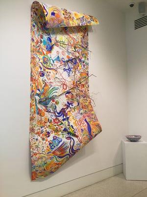 """""""Double Portrait,"""" by Genie Kell and Nando Ortegón"""