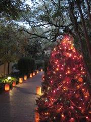 Luminaria Nights at Tucson Botanical Gardens.