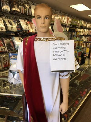 The Magic Planet costume shop in Thousand Oaks is closing after 27 years.