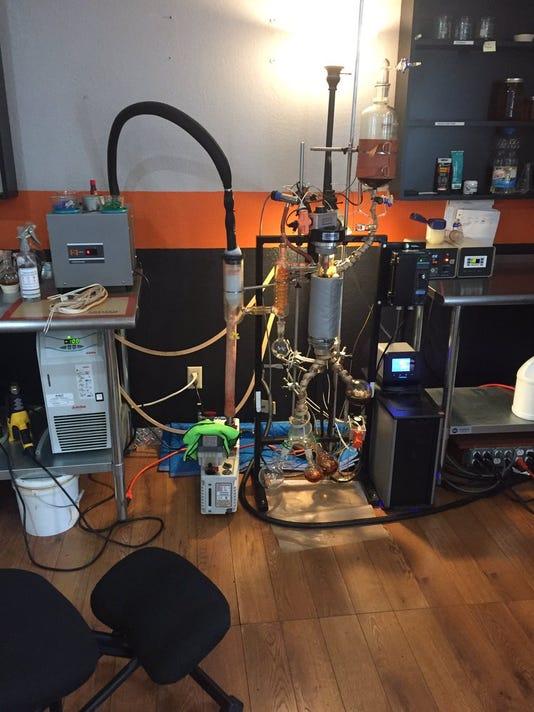 Somis Hash Oil Lab 1