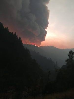 The Helena Fire in Trinity County has grown to 11,013 acres.