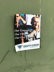 A poster associated with the group IDentity Evropa