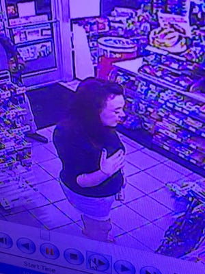 The Unified Police Department in Utah says this woman stole from a store clerk who was having a seizure.