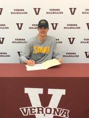 Verona's Ian Metzger commits to play baseball at Southern