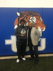 Raymond Horton from Mainland High in Daytona Beach, Fla., is one of several offensive linemen who signed with Tennessee State on Wednesday.