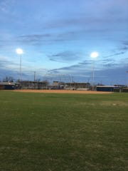 Lights were installed at Lake View Maidens Field in time for the 2018 season. Maidens Field, located on East 47th Street, is the home of the Lake View Maidens softball program.
