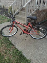 Bicycle like the one Shawn Hatch was last seen riding.