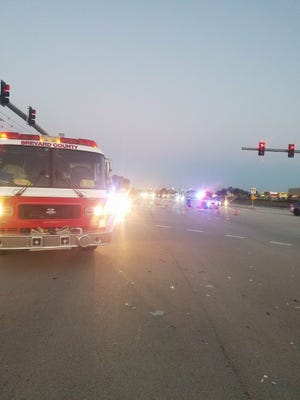 A fatal crash involving a bicycle was reported Tuesday morning.