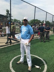 Walnut Hills junior Loren Williams won the home run derby with 14 points in the opening and championship round.