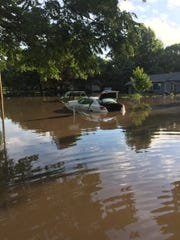Flash flooding that claimed vehicles left high water