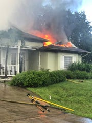 Thursday fire in Port St. Lucie