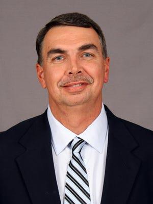 MTSU baseball coach Jim McGuire.