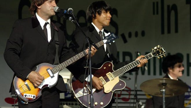 Toppermost, a Beatles tribute band, will play 5 p.m. Friday in Friendship Park.