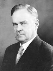 Charles A. Webb, publisher of Asheville Citizen-Times