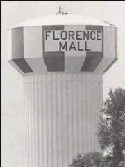 "The Florence water tower before it was changed to ""Florence"
