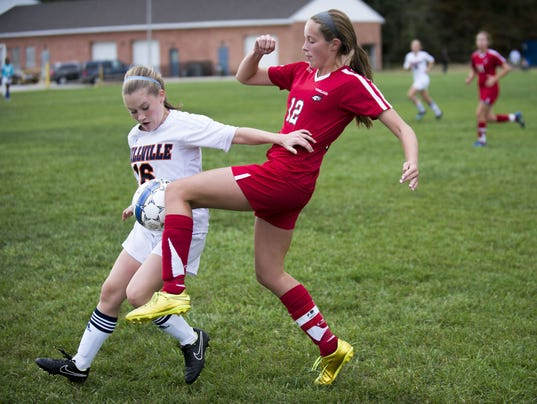 Girls soccer notebook