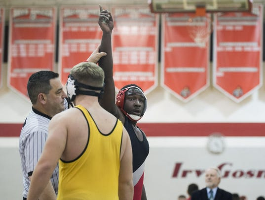 Vineland wrestling beats Lower Cape May