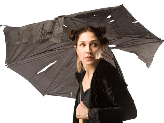 "Susanna Hamnett in ""Nearly Lear"" Nov. 18-19 at James"
