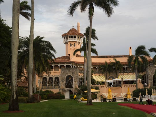 Mar-a-Lago Club on December 30 in Palm Beach, Fla.