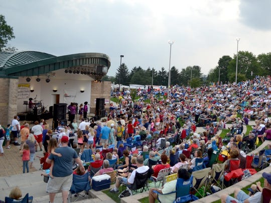 A free summer concert series will be held at 7 p.m. on Sunday and Wednesday nights through July 31 at Springettsbury Township Park Amphitheater.