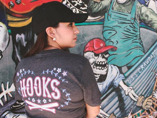 The Corpus Christi Hooks collaborated with Brandiose, a California-based sports uniform company, to create Dia de los Muertos-inspired merchandise to premiere in April 2017. The Hooks are hosting Dia de los Hooks over Memorial Day weekend.