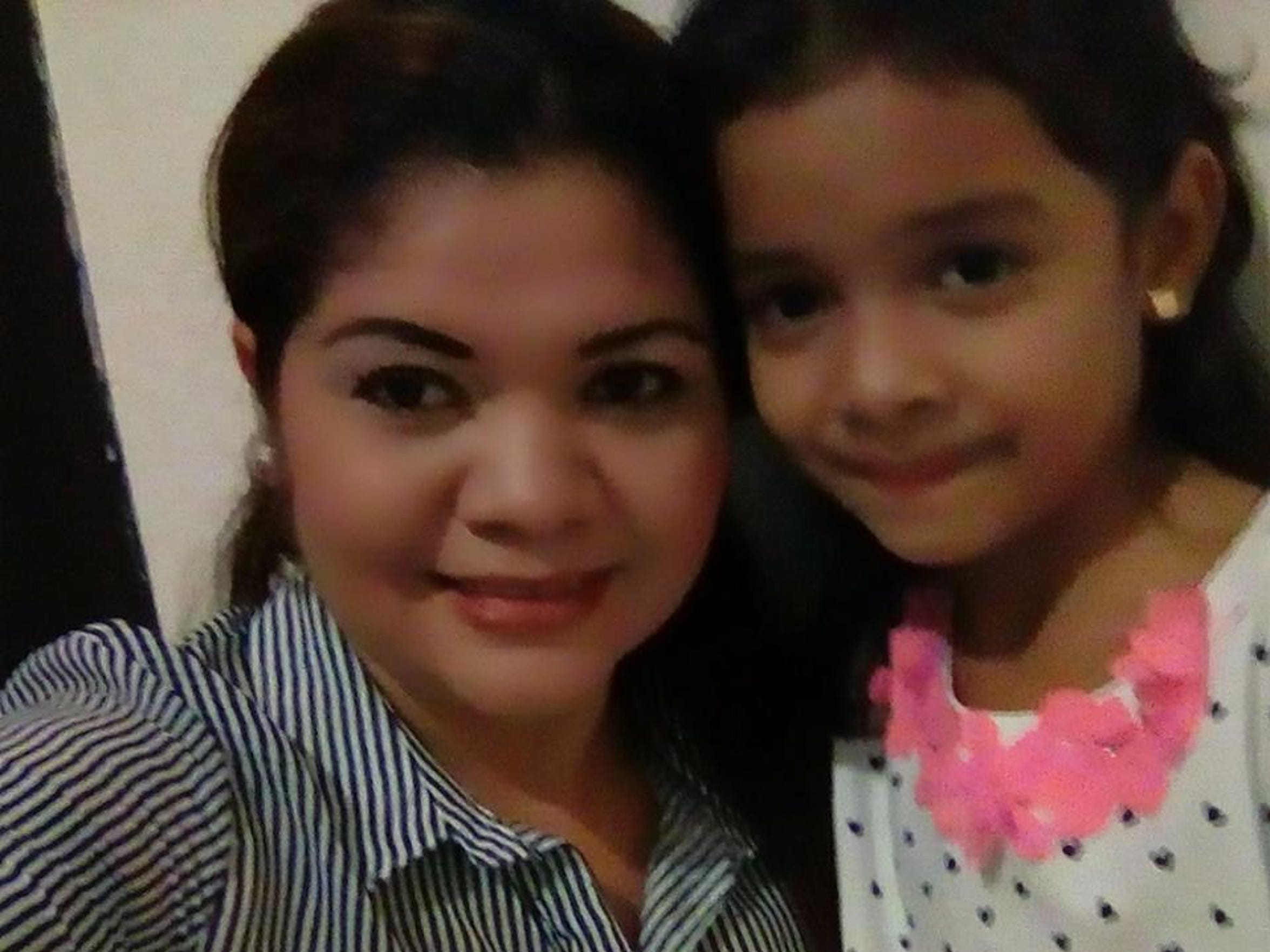 """Alisson Ximena Valencia Madrid, 6, remains more than 1,200 miles aware from her mom, Cindy Alinette Madrid-Henriquez, after being separated because of the """"zero tolerance"""" policy."""