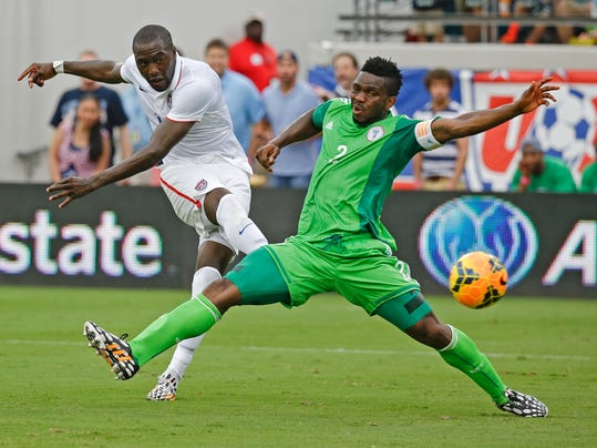 WCup Nigeria US Soccer