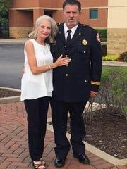 Captain John Schoonmaker of the Hendersonville Fire
