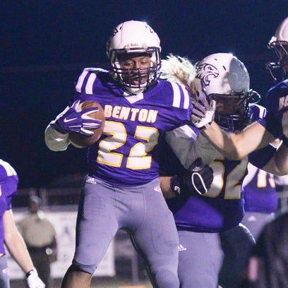 Benton's Jermaine Newton Jr.  had three touchdowns