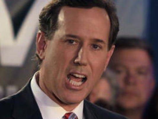 Santorum straw poll