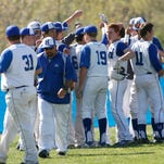 The Highlands baseball team in April of 2014.