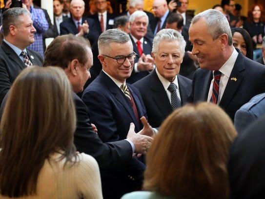 Former Governors Richard Codey, Jim McGreevey and Jim