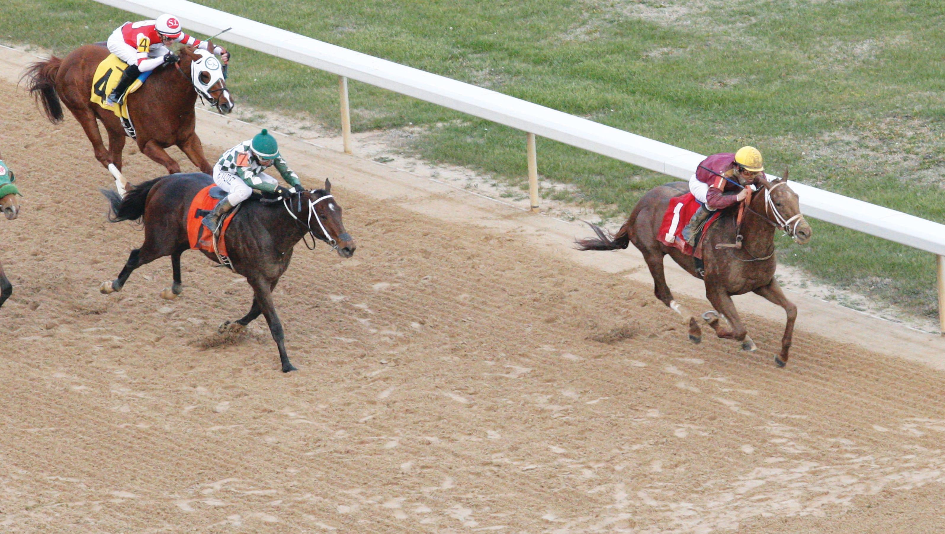 Route du Kentucky Derby/Kentucky oaks 2015 635572970265306112-Far-Right---The-Smarty-Jones---The-8th-Running---01-19-15---R08---OP---Aerial