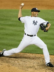 Mariano Rivera in the ninth inning.