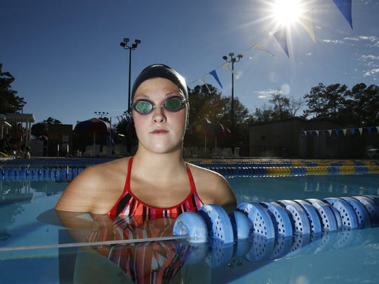 The 2015 All-Big Bend Swimmer of the Year for girls swimming is Chiles junior Morgan Ayers.