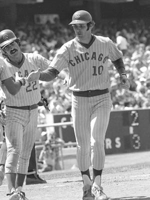 Dave Kingman, then of the Chicago Cubs, led the National League with 48 homers in 1979. He also had 115 RBIs that season.